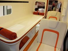 With two foldaway seats, the NOAH has seating for a maximum of four people ... plus a dog