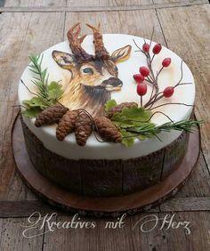 Cupcakes, Cupcake Cakes, Sweets Recipes, Cake Recipes, Christmas Cake Designs, Dad Cake, Teen Cakes, Funny Cake, Adult Birthday Cakes