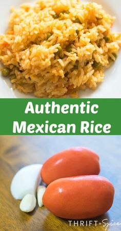 Mexican Rice this authentic mexican rice is the perfect side dish to all your favorite mexican meals!this authentic mexican rice is the perfect side dish to all your favorite mexican meals! Authentic Mexican Recipes, Mexican Chicken Recipes, Mexican Breakfast Recipes, Rice Recipes For Dinner, Mexican Dishes, Mexican Meals, Rice Krispies, Latin Food, Easy Meals