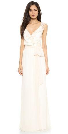 Joanna August Lacey Ruffle Dress | SHOPBOP