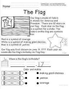 Teacher to the Core: American Symbols