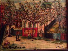 Montmartre by James J. McKeever Paulette's Dad