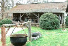 Log cabin Museum of Appalachia, wonderful place to visit, near Norris, TN.