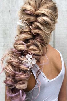 Messy Side Topsy Tail ❤ #lovehairstyles #hair #hairstyles #haircuts Boho Hairstyles, Party Hairstyles, Wedding Hairstyles, Bridal Hairstyle, Black Hairstyles, Hairstyles Haircuts, Fairytale Hair, Hair Patterns, Graduation Hairstyles