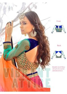 Sophisticated Multi Colored Border Worked Faux Georgette Saree ( 2 of 2 ), Product Code: TSN84016, Price: Rs.999.00 [After 60% off], USD $ 15