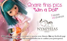 Poupée à gagner sur http://www.nympheasdolls.com/contest/ ^^ Nympheas anniversary Contest ! - Nympheas Dolls
