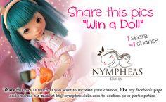 Nympheas anniversary Contest ! - Nympheas Dolls  http://www.nympheasdolls.com/contest/