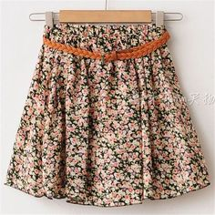 2016 SUMMER STYLE WOMEN SKIRT SAIA CASUAL CUTE ABOVE KNEE MINI SHORT SAIAS CHIFFON SKIRTS GIRL INTERLINING BLUE BLACK (NO BELT)
