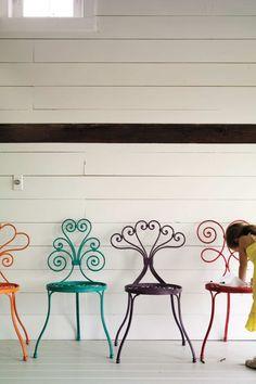 Bohemian garden chairs. Great!