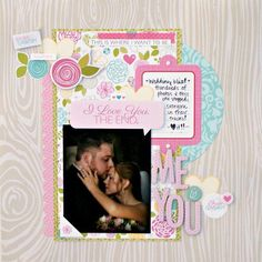 Layout: Me & You by Jenny Evans