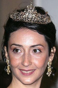 Tiara Mania: Diamond Tiara worn by Princess Rym of Jordan