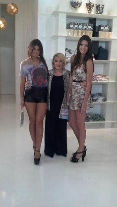 kylie,joan rivers and kendall