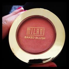 As recommended by my fave make up vlogger Jaclyn Hill, Milani baked blush in shade Luminoso is just $9 at CVS!