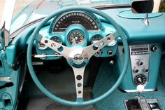 1960 Tasco Turquoise Corvette