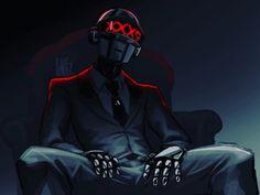 Daft Punk, Thomas Bangalter, Dj Music, Punk Art, Michael Myers, Cultura Pop, Sword Art Online, Cyberpunk, Character Art