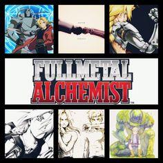 FullMetal Alchemist Edward Elric Alphonse Elric Brothers Alchemy Anime InShot App Collage