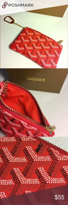 GoYard Coin Pouch Great quality! Fast SHIPPING!  new product in ! Goyard Accessories Key & Card Holders