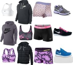 """More Nike Hoodies"" by cowgirrrl-up on Polyvore"