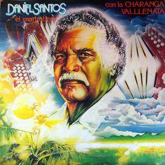 """Daniel Santos """"El Marimbero"""" con La Charanga Vallenata- Barbaro B 208 (produced by Javier Vasquez)."""