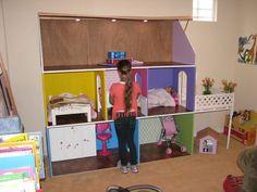 American Girl Dollhouse 18 Doll Sized Plans for Dollhouse | eBay