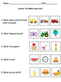 This mega pack contains TONS of resources to help your students learn how to successfully answer who, what, where, when, and why questions. This skill can be a struggle for children with autism, cognitive impairments, or speech disorders. Using visuals, multiple examples, and structure will allow students to learn this skill successfully with this resource! by theautismhelper.com