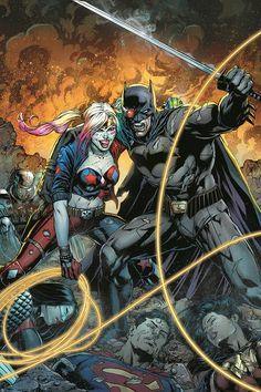 Justice League Vs Suicide Squad by Jason Fabok