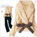 Asia Apricot Coat L (#20555)