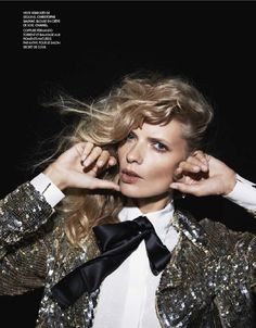 visual optimism; fashion editorials, shows, campaigns & more!: ainsi soit style: julia stegner by philip gay for elle france n°3485 12th october 2012