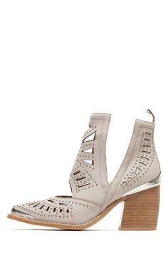 Jeffrey Campbell Shoes MACEO Shop All in Light Grey Silver