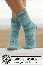Ravelry: 152-7 Blue Notes pattern by DROPS design.  I want to tackle sock knitting!