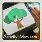 Fall Play Dough Mats (printable) from The Activity Mom