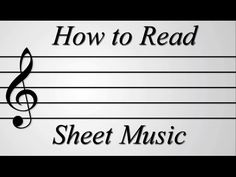 A helpful guide created by an unqualified individual. Now that you can read sheet music why not use your newly-found skills to play the theme from this video...