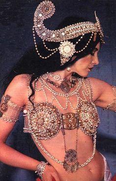 Lene Lovich as Mata Hari.  Lovely Lene, lovely voice and lovely songs.