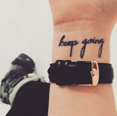 Short, small, meaningful tattoo quotes for girls, women #TattooIdeasMeaningful