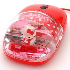 Hello Kitty Aqua Mini Optical Mouse!