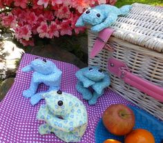 Animals to Make with Fat Quarters #FatQuarters #Sewing by Jill Richmond