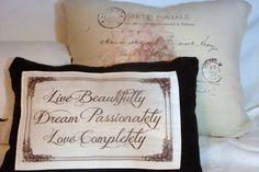 Linen Pillow  Pillows  Speciality pillows  by JulieButlerCreations