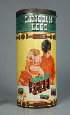 Lincoln Logs, I really like these as a kid ... I forgot about them, Carol Shepko