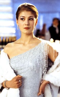 Rosamund Pike from Bond Babes Die Another Day