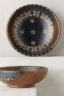 Batik Serving Set - anthropologie.com