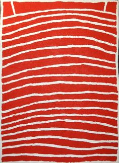 Margaret Baragurra - Kalpirti (2006). Acrylic On Canvas 76cm x 107cm | Short St Gallery, Broome