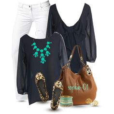 A fashion look from August 2013 featuring Citizens of Humanity jeans, Tory Burch flats y MICHAEL Michael Kors shoulder bags. Browse and shop related looks.