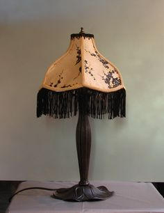 Asian Style One of A Kind Lampshade w/ Base by TSTSpecialtyDesigns, $69.00