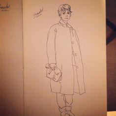 Fashion Sketch #015