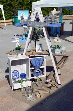 Baptism Decoration Διακόσμηση Βαπτισης Στολισμος Baby Elephant, Ladder Decor, Ideas, Home Decor, Travel, Party, World, Elephant Baby, Decoration Home