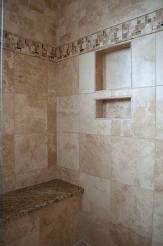 Inspiration bathroom tile pattern decorating ideas (45)