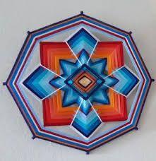Resultado de imagen para mandalas tibetanos de lana