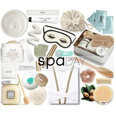 Spa Day! xx by agg1994 on Polyvore featuring косметика, Fresh, Kiehl's…