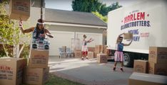 "Geico: ""Harlem Globetrotters Moving Co."" by The Martin Agency David Gibson, Justin Harris, Harlem Globetrotters, Advertising Archives, Park Pictures, Professional Services, Executive Producer, Cannes, How To Memorize Things"