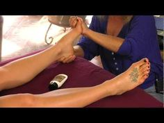 Foot Massage Therapy, How to Massage Feet Techniques with Athena Jezik